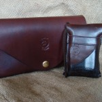 Devon Leather Clutch & Mobile Phone Case