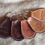 Devon Leather Keyrings
